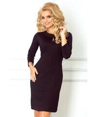 SAF Dámské pouzdrové šaty s kapkou černé velikost oblečení: M