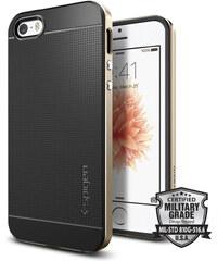 Pouzdro / kryt pro Apple iPhone 5 / 5S / SE - Spigen, Neo Hybrid Champagne Gold