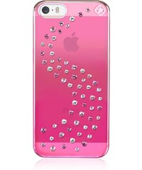 Pouzdro / kryt pro Apple iPhone 5 / 5S / SE - Bling My thing, Milky Way Pink Metallic - MADE WITH SWAROVSKI®
