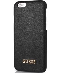 Pouzdro / kryt pro Apple iPhone 6 / 6S - Guess, Saffiano Back Black