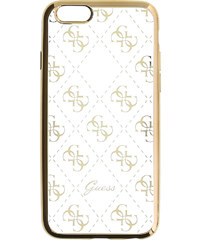 Pouzdro / kryt pro Apple iPhone 6 / 6S - Guess, 4G TPU Gold