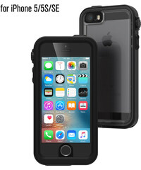 Voděodolné pouzdro / kryt pro Apple iPhone 5 / 5S / SE - Catalyst, Waterproof Case Black
