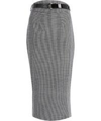 LINDY BOP Dámská sukně pouzdrová Carver černobílá