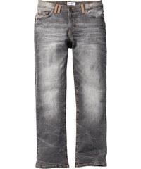 John Baner JEANSWEAR Jean extensible Regular Fit Bootcut, N. gris homme - bonprix