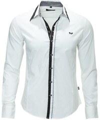 9124c9ef726 CARISMA košile pánská 8020 dlouhý rukáv slim fit