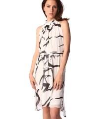 Dámské bílé šifonové šaty Q2