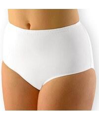 Gina Dámské kalhotky klasické vyšší XXL bavlněné bílá 62/64