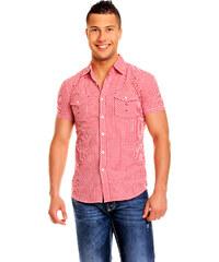 Palay Boy & Fashion Pánská košile Palay Boy & Fashion - červená