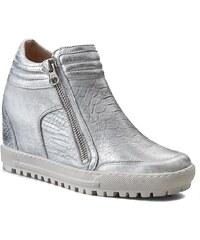 Sneakersy EKSBUT - 66-4008-E38/369-1G Srebro