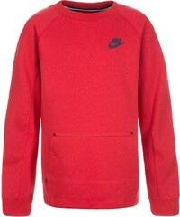 Nike Performance TECH FLEECE Sweatshirt lite university red heather/obsidian