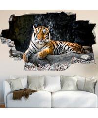 Lesara Sticker mural 3D Tigre