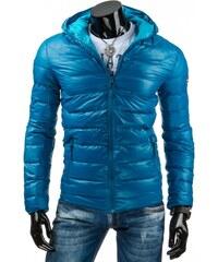 Lehká prošívaná bunda pánská Streetem modrá - TX1110 Modrá