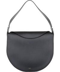 Celine Sacs portés main, Round Flap Bag Tote Black en noir