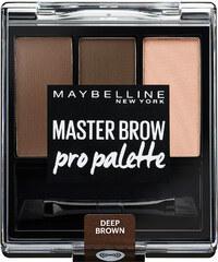 Maybelline Deep Brown Master Brow Pro Pallette Augenbrauenpuder 3 g