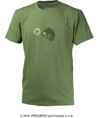 Progress BARBAR pánské triko s bambusem (zelená)