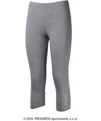 Progress MONZA 3/4 bambusové kalhoty (šedá)