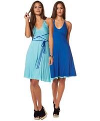 Oboustranné letní šaty AJC 32 modrá