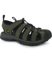 Trekové sandály Karrimor Ithaca Leather pán. hnědá