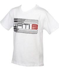 Wati B T-shirt enfant Wyatt je tee blanc