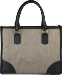 Lesara Business-Handtasche mit Details in Leder-Optik - Beige