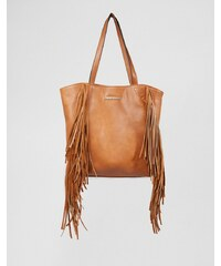 Little Mistress - Sac frangé - Fauve