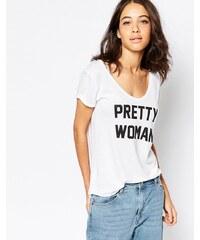 South Parade - T-shirt motif Pretty Woman - Blanc
