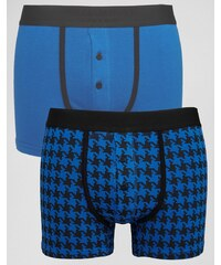 William Hunt - Lot de 2 boxers - Bleu marine