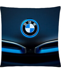 Polštář auta 04 modrá Mybesthome 40x40 cm Varianta: Povlak na polštář, 40x40 cm