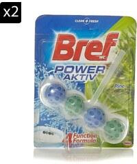 Bref Power Active - 2-er Set WC-Reinigungsblöcke - 50 g