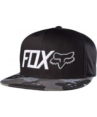Kšiltovka Fox Hazzard snapback hat graphite ONE SIZE