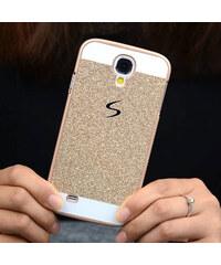 Lesara Glitzer-Schutzhülle für Samsung Galaxy S5/S6 - Gold - Samsung S5