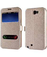Lesara Flipcase für Samsung Galaxy S5/S6 - Gold - Samsung S5