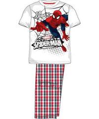 E plus M Chlapecké pyžamo Spiderman - červenobílé
