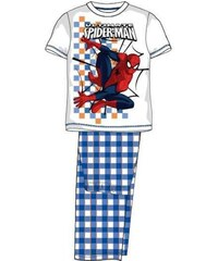 E plus M Chlapecké pyžamo Spiderman - modrobílé