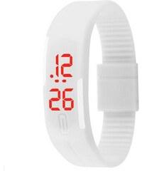 Digitální LED hodinky sport 2020- bílé