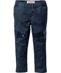 John Baner JEANSWEAR Pantalon avec paillettes, T. 80-134 bleu enfant - bonprix