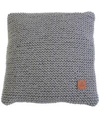 Catness Design s.r.o. Dekorativní polštář šedý 022 50x50