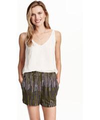 H&M Vzorované žerzejové šortky