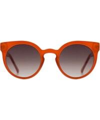 Sluneční brýle Komono Lulu milky red