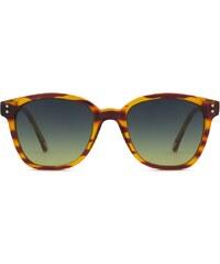 Sluneční brýle Komono Renee lined tortoise