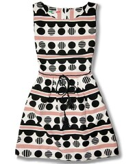 Kleid Ecru/Puder 1037