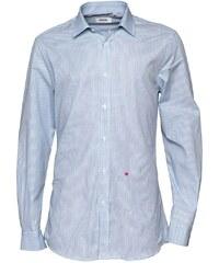 Moschino Herren Formal Smokinghemd Blue/White Check