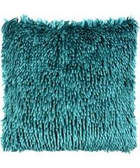 Polštář SHAGGY 40x40 cm žinylka s vlasem, tyrkysový, Mybesthome Varianta: Povlak na polštář, 40x40 cm