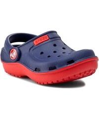 Crocs Dětské sandály Duet Wave - červeno-modré