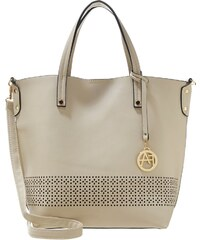 Anna Field Shopping Bag creme/black