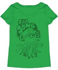 Monsieur Poulet Sad Song - T-shirt - vert