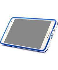 Lesara Hülle mit Stand für Samsung Galaxy S5/S6 - Blau - Samsung S5