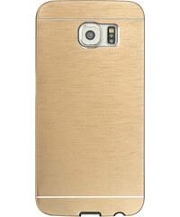 Lesara Hülle im Metallic-Design für Samsung Galaxy S5/S6 - Gold - Samsung S5