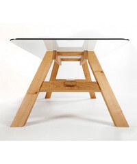 Jídelní stůl Glass To, 200x100 cm