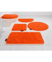 Badematte, 3 tlg. Hänge WC-Set, Bruno Banani, »Lana«, Höhe 25 mm, rutschhemmender Rücken